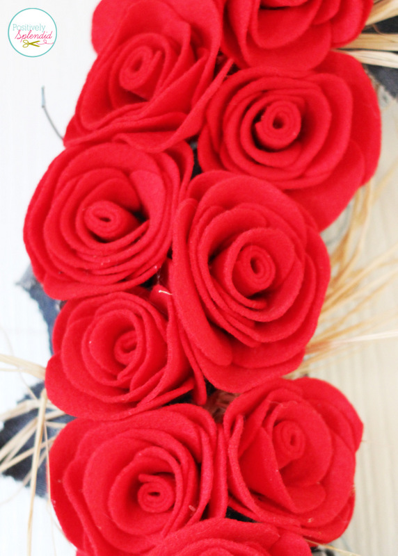 These felt roses at Positively Splendid are absolutely gorgeous. You'll never believe how easy they are to make!