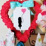 Valentine's Day Vignette (Valentine Tree)