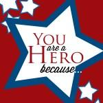 Free Printable Memorial Day Hero Card
