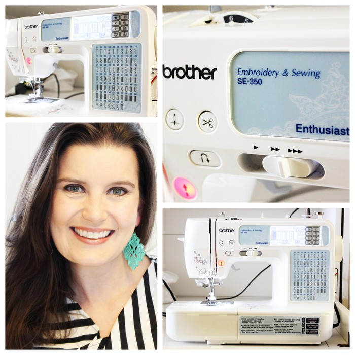 Brother SE-350 Sewing Machine