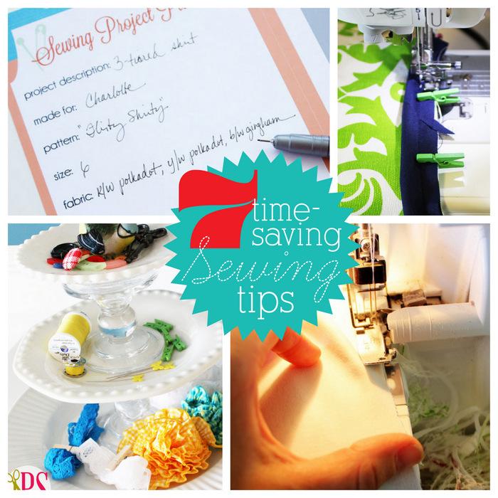 7 Time-Saving Sewing Tips :: PositivelySplendid.com