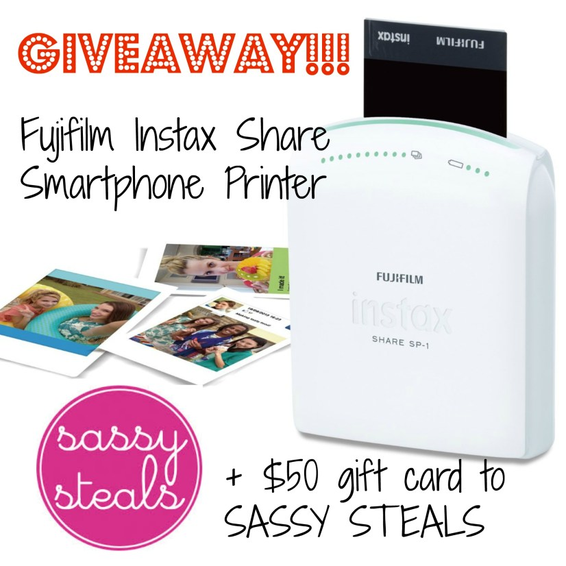 WIN an Instax Share smartphone printer!