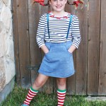 DIY Pippi Longstocking Costume #MichaelsMakers