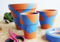 DIY Painted Terracotta Pots - Easily spruce up any clay ...