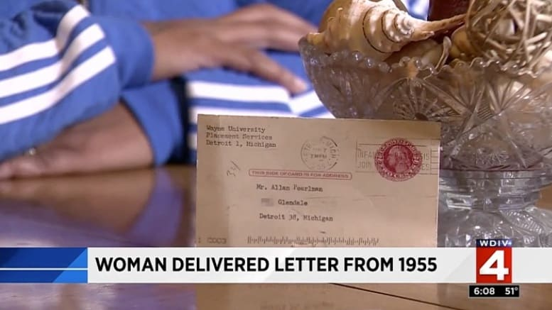 Letter sent to Detroit home delivered 62 years late \u2013 Postal Times