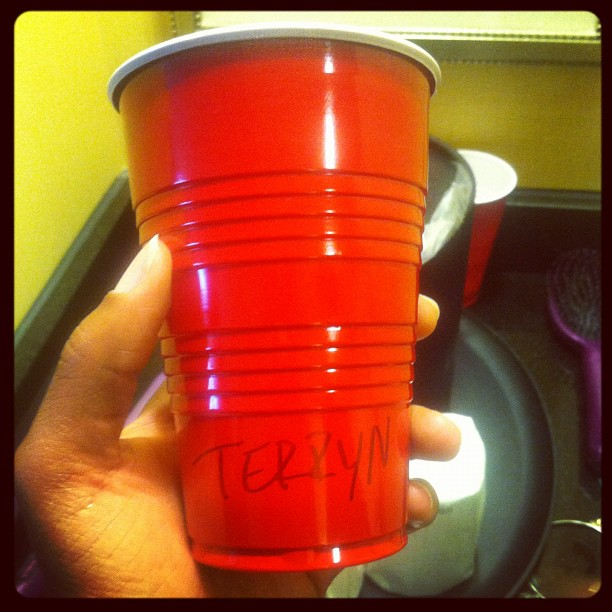 My Red Cup from Last Year's Homecoming.