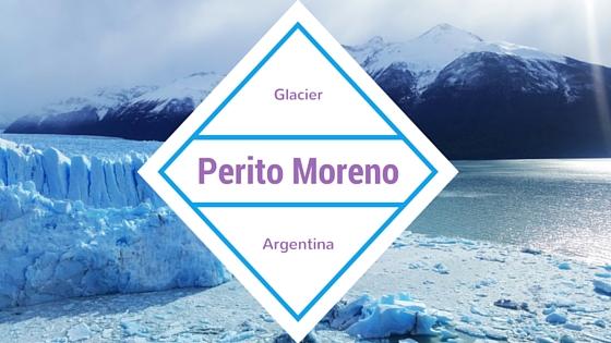 The sound of glaciers. Perito Moreno