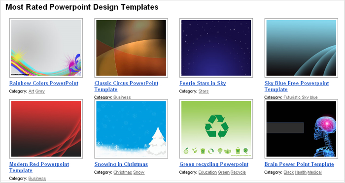 Free PowerPoint templates « Poster-Street \u2013 Blog - recycling powerpoint templates