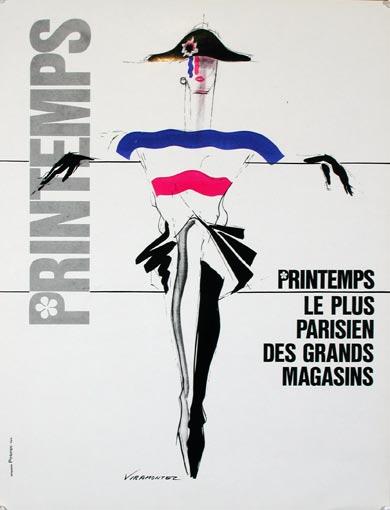 Rene Gruau Poster, Gruau postes, vintage gruau posters