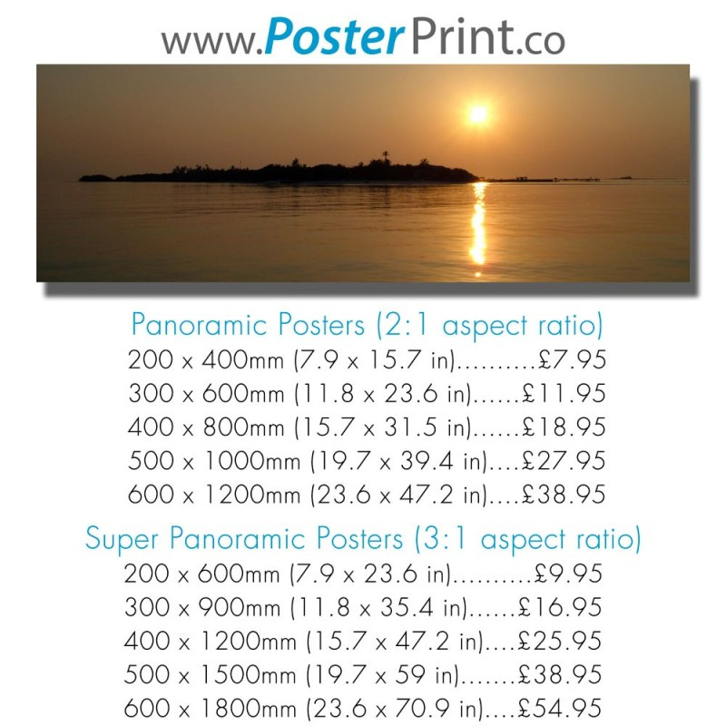 Large Of Normal Poster Size