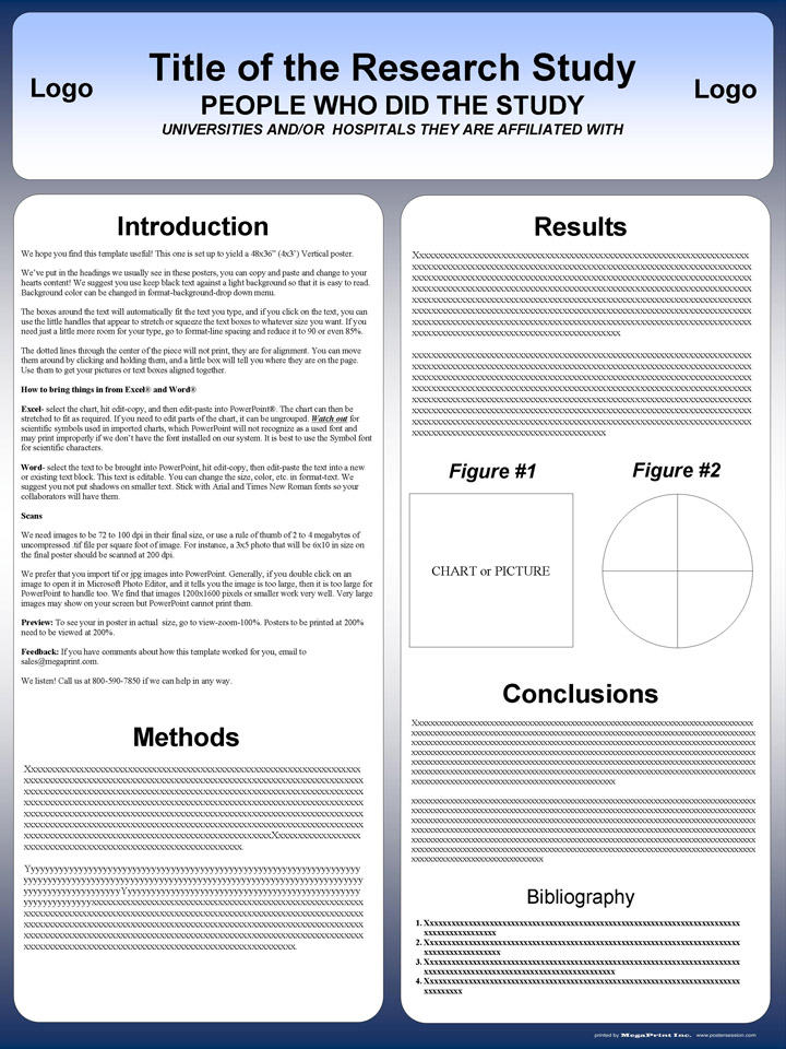 powerpoint poster templates 36x48