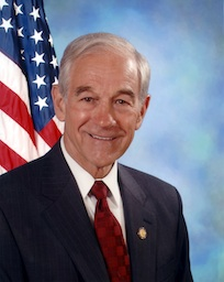 Ron Paul - Image From Wikipedia