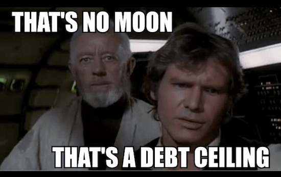 That's No Moon. That's a Debt Ceiling
