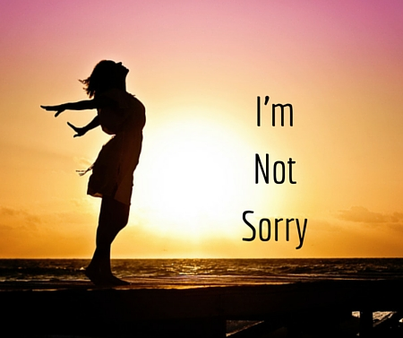 I'm Not Sorry -postpartumprogress.com