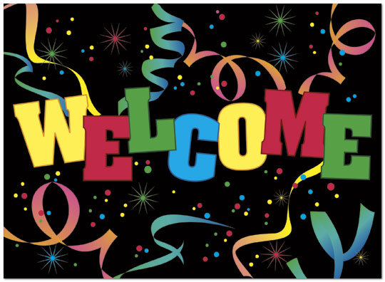 Welcome Party Greeting Card Employee Welcome Cards Posty Cards, Inc - cards party