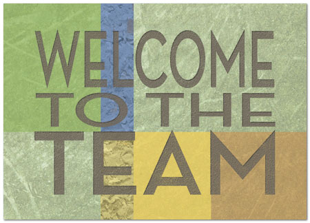 Team Welcome Card Employee Welcome Cards Posty Cards, Inc