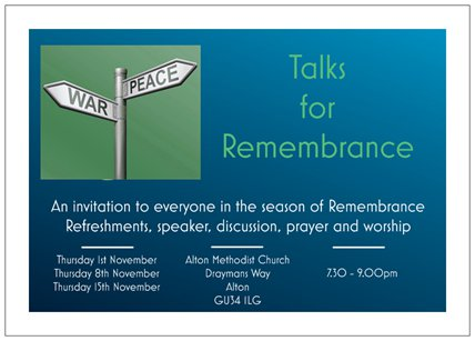 Talks For Remembrance Parish Of The Resurrection