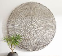 Woven Wheel Wall Art