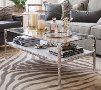Tanner Marble Rectangular Coffee Table