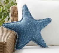 Starfish Shaped Indoor/Outdoor Pillow | Pottery Barn