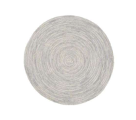 Round Mercer Rug Pottery Barn Kids