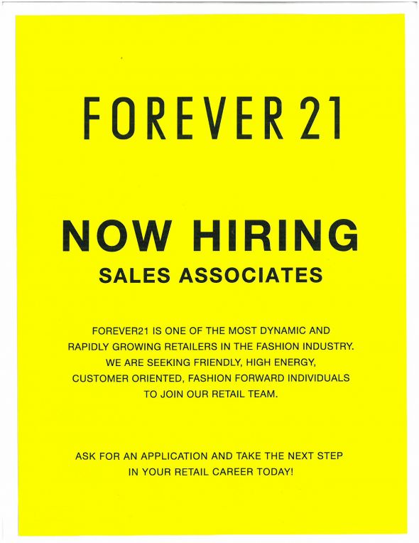 Forever 21 Internship Yellow Dresses