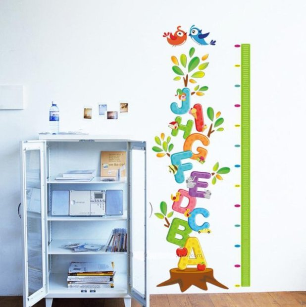 Removable-Cartoon-font-b-Letters-b-font-Body-Height-font-b-Wall-b-font-font-b What Are the Latest Home Decor Trends for 2014?