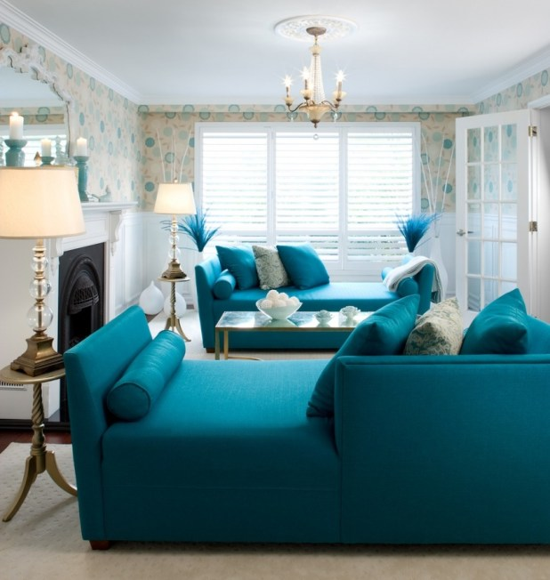 blue-living-room-interior-design-ideas Discover the Furniture Trends for 2014