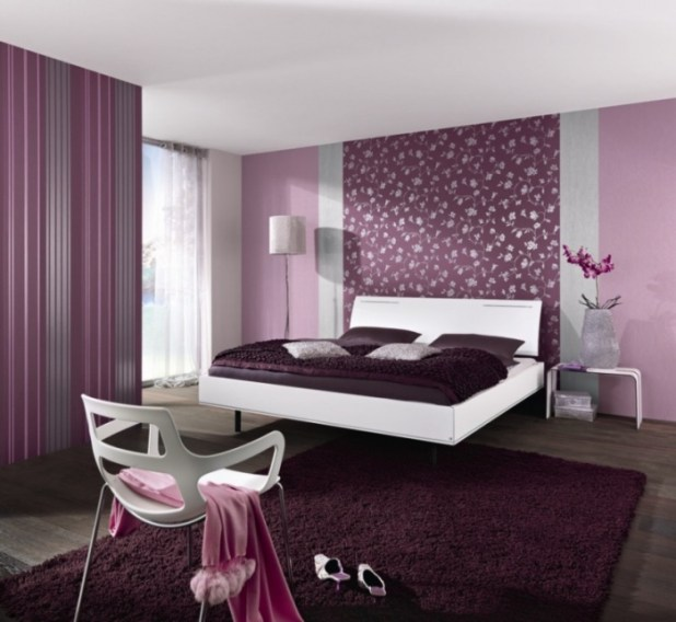 the-outstanding-of-purple-for-the-charming-purple-bedroom-designs-dark-purple-bedroom-design-inspirations What Are the Latest Home Decor Trends?