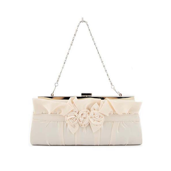 beige-flower-evening-bag 50 Fabulous & Elegant Evening Handbags and Purses