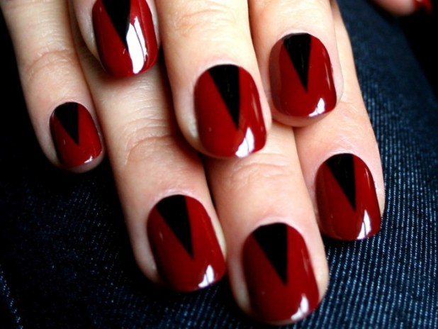 06-nail-art-new-years-red-spikes What Are the Latest Beauty Trends for 2014?