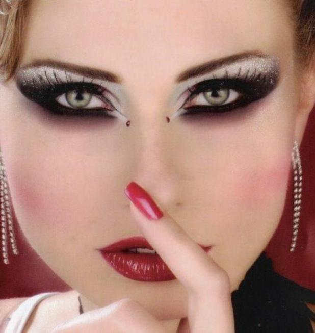 Arabic-makeup-girls-neeshu.com-3 What Are the Latest Beauty Trends for 2014?