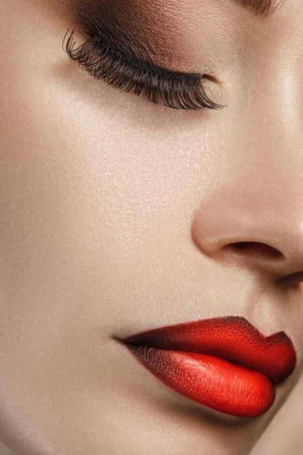 Ombre-lips-Inspiration-04 What Are the Latest Beauty Trends for 2014?