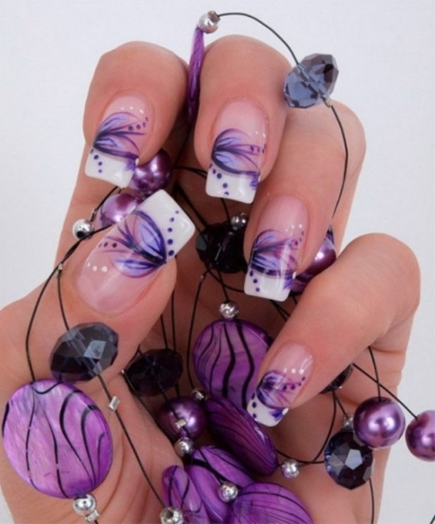 latest-nail-art-design-for-christmas-2013-new-year-2014-12 What Are the Latest Beauty Trends for 2014?