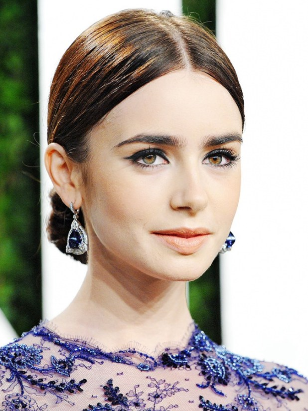 lily-collins-768 What Are the Latest Beauty Trends for 2014?