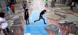 The Incredible Art of 3D Street Painting