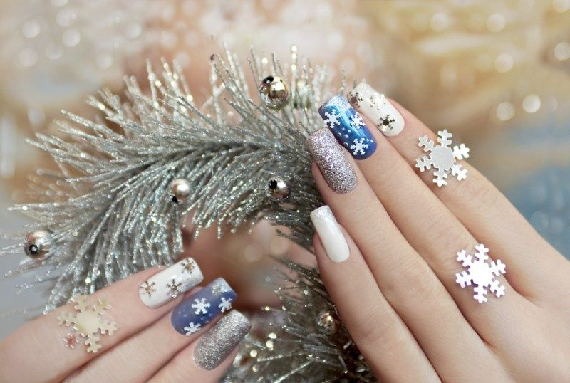 89 Astonishing New Years Eve Nail Design Ideas For Winter