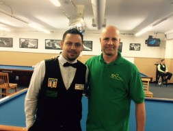 Daniel Busch with Tournament Director, Ricky Carranco