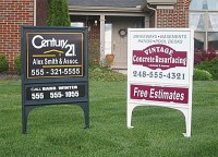 Realicade Yard Sign Frames | Power-Graphics.com