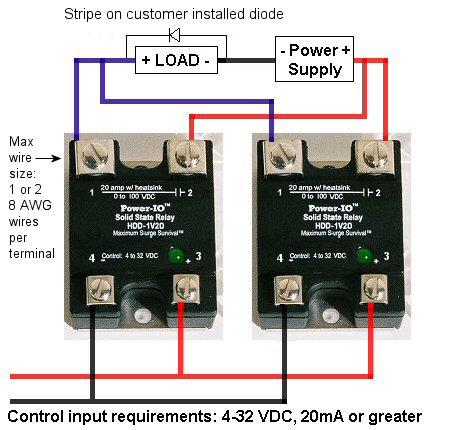 Ssr Wiring Diagram Dc Dc Wiring Diagram