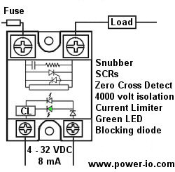 solid state relay control circuit diagram