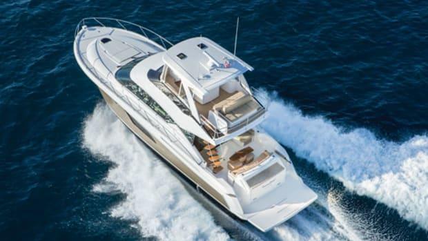Power  Motoryacht\u0027s boat test of the Tiara F53 Flybridge - Power
