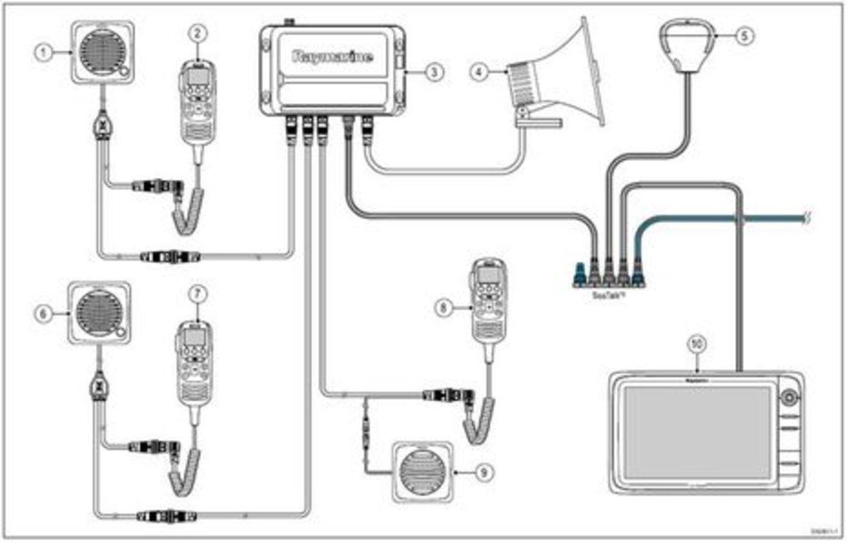 raymarine nmea 2000 wiring diagram