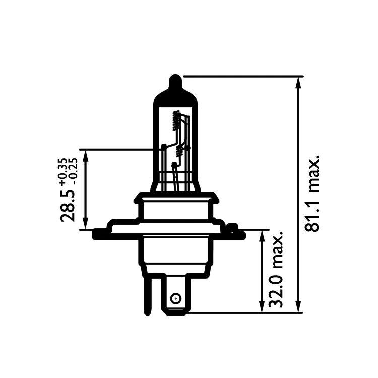 wagner h6054 headlight wiring diagram