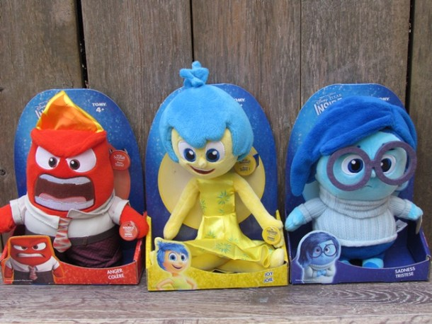 Inside out Talking Plushes