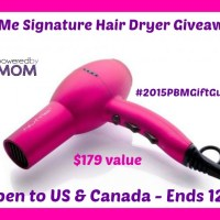 NuMe Signature Hair Dryer Giveaway