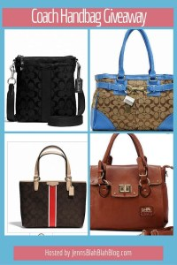 May Coach Handbag Giveaway