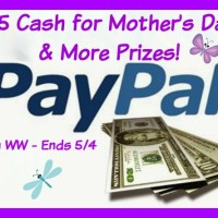 $15 Paypal Cash Mother's Day Giveaway Hop