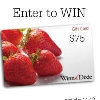 $75 Winn Dixie Gift Card Giveaway