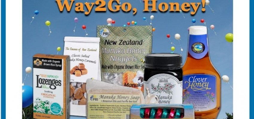 Way 2 Go Honey PRI Giveaway – Manuka Honey & More